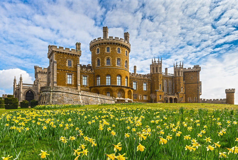 Architectural Photography Belvoir Castle