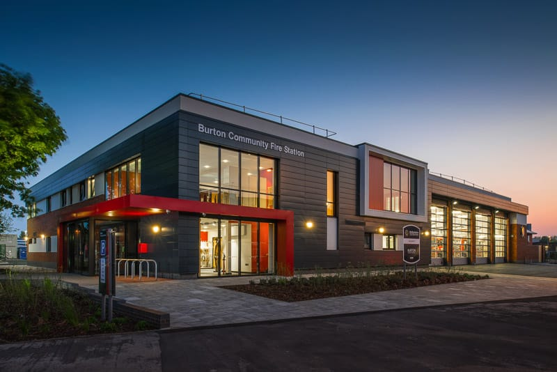 Architectural Photography Burton Fire Station