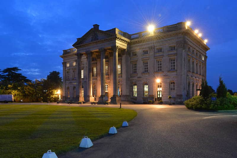 Architectural Photography Moor Park Mansion Night
