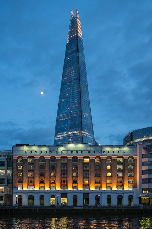 Architectural Photography Shard Dusk