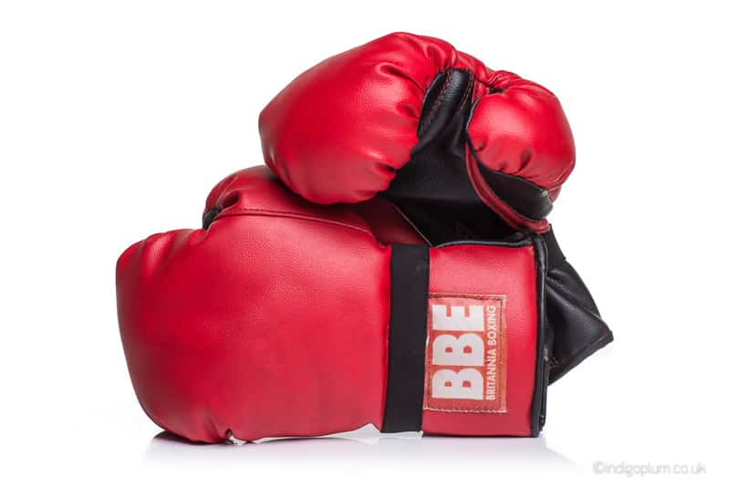 Boxing Gloves Catalogue Photography