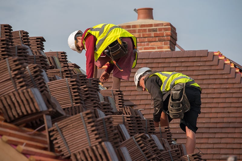 Construction Photography Roofing
