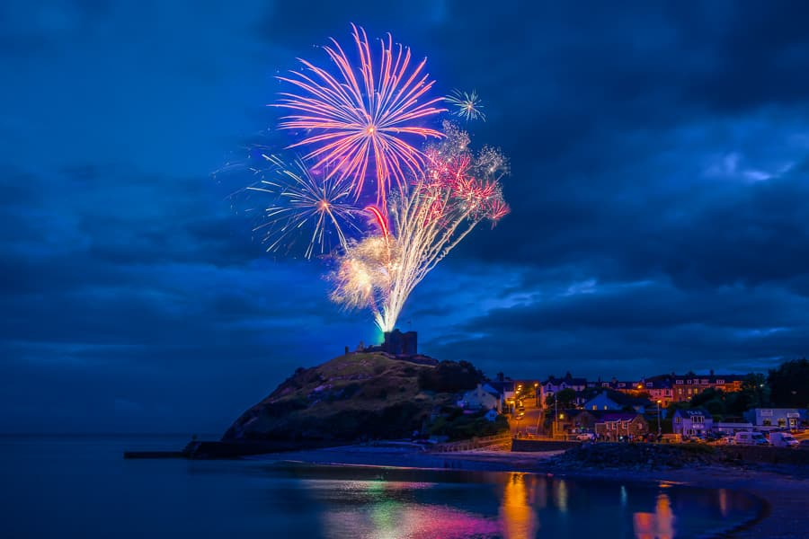 Criccieth_Festival_Fireworks Event Photography