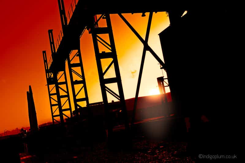 Industrial Photography Dusk