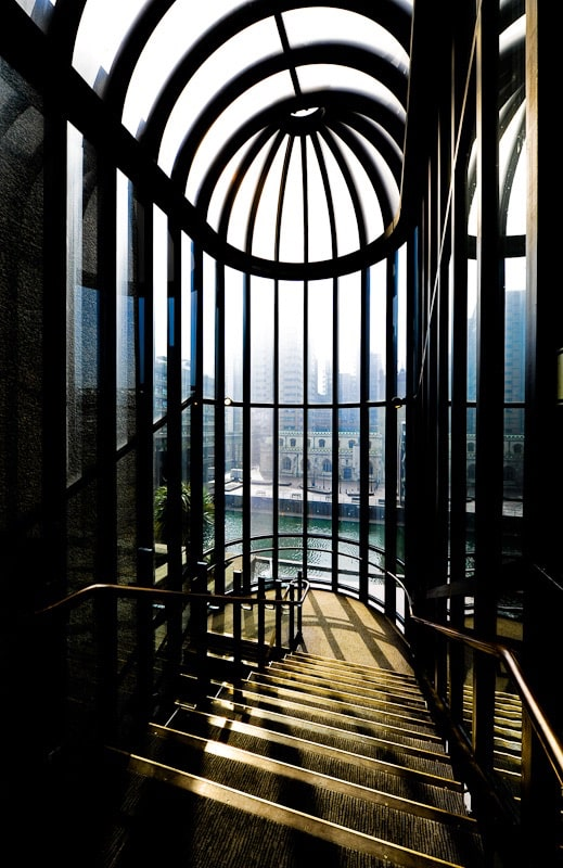 Interior Photograph of Stairs London