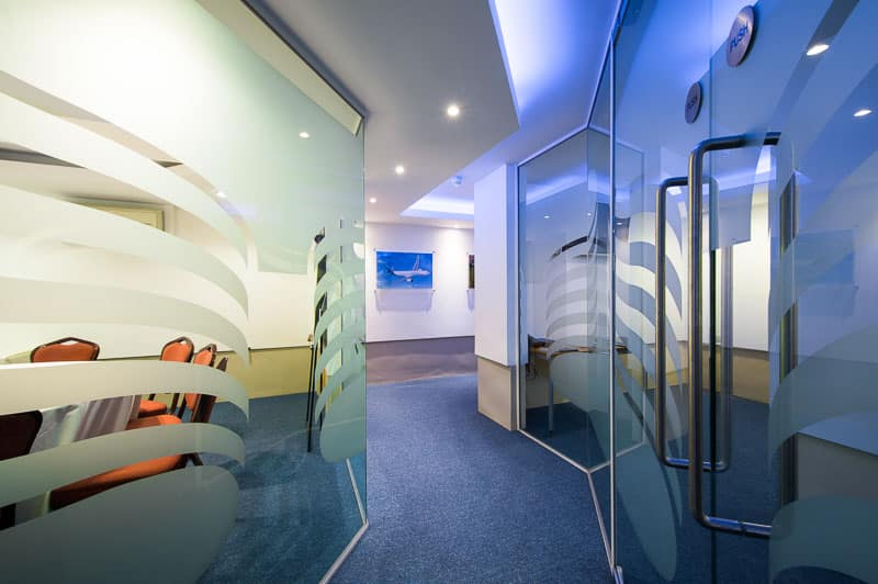 Interior Photography Airbus Business Suite Hamilton Place London