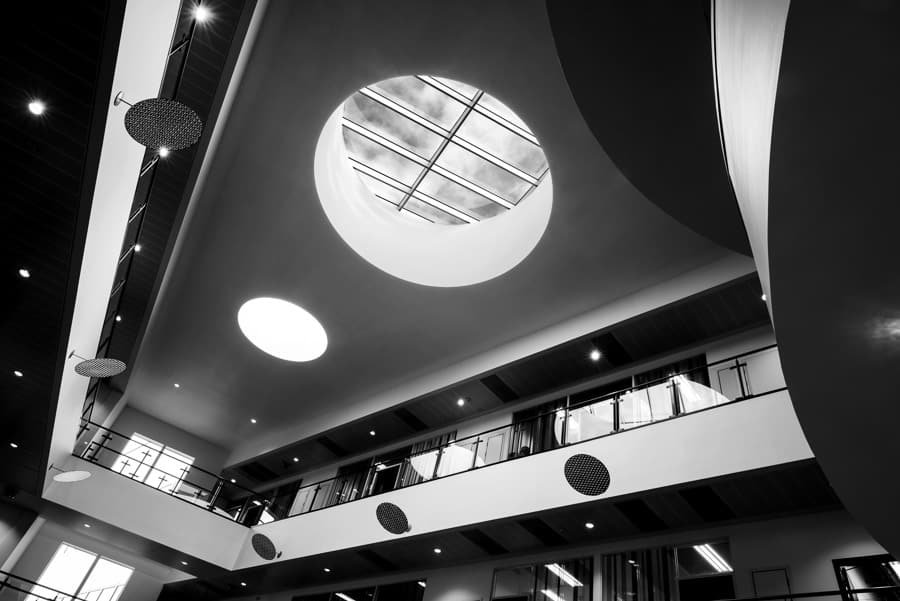 Interior Photography Atrium