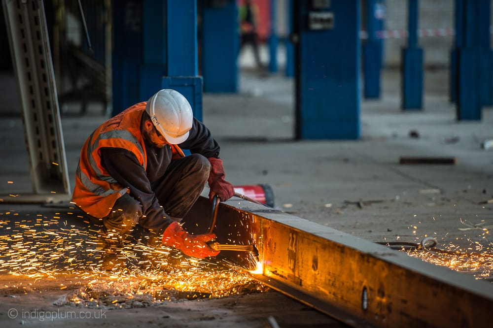 Oxy-acetylene-cutting-construction-building-photography
