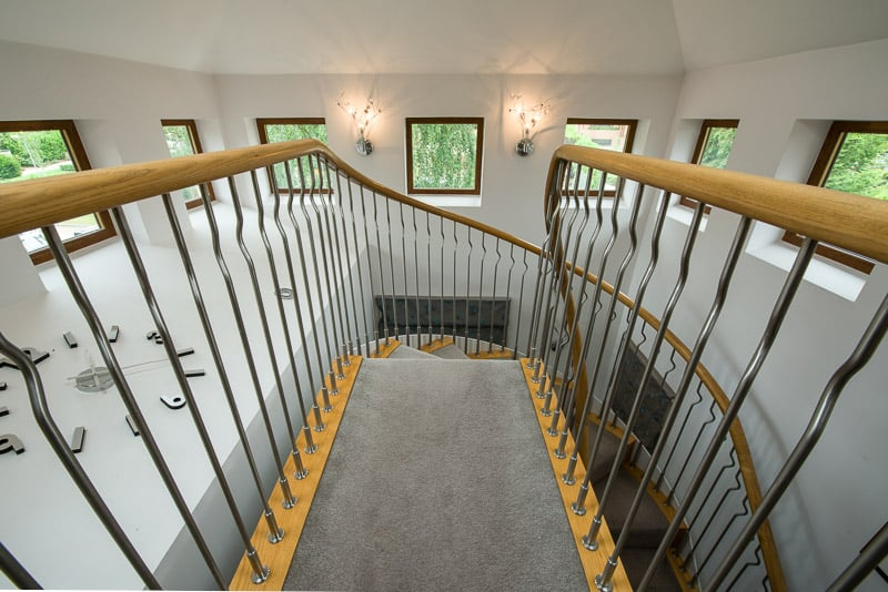 Residential Staircase Interior Photography Bricket Wood