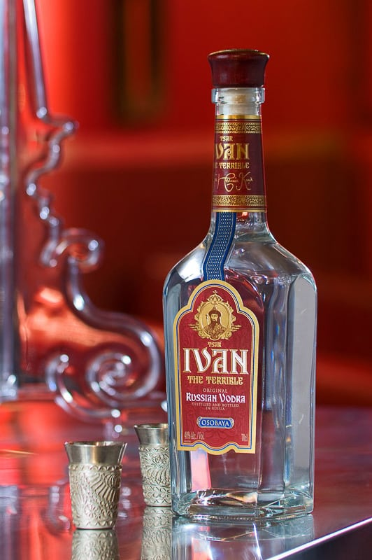 Vodka Product Photography
