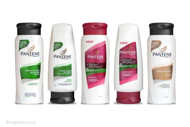 Pantene Product Photography
